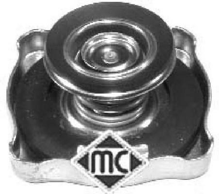 Bouchon, réservoir de liquide de refroidissement Metalcaucho 03607