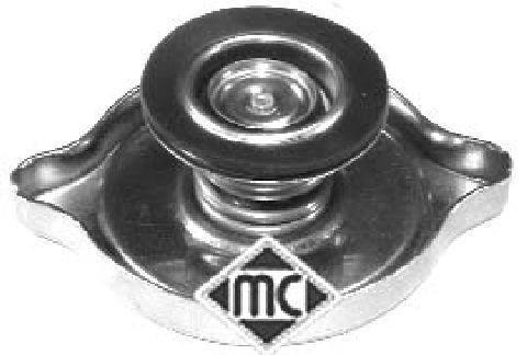 Bouchon, réservoir de liquide de refroidissement Metalcaucho 03608
