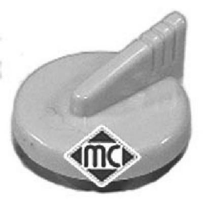 Bouchon, goulotte de remplissage d'huile Metalcaucho 03619