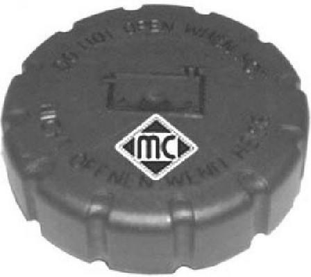 Bouchon, réservoir de liquide de refroidissement Metalcaucho 03660