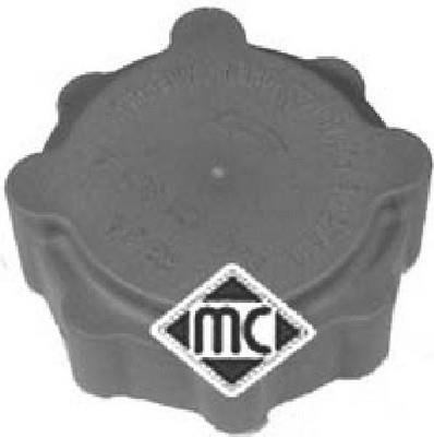 Bouchon, réservoir de liquide de refroidissement Metalcaucho 03690
