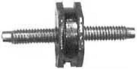 Support de palier, suspension du moteur Metalcaucho 04660