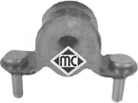 Support, suspension du stabilisateur Metalcaucho 04981