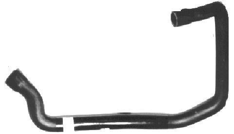 Durite de radiateur Metalcaucho 07940