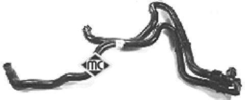 Durite De Radiateur Metalcaucho 08302