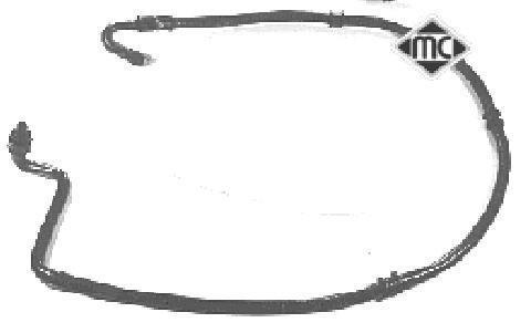 Tuyau d'huile Metalcaucho 08311