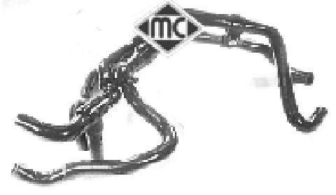 Tuyauterie de carburant Metalcaucho 08370