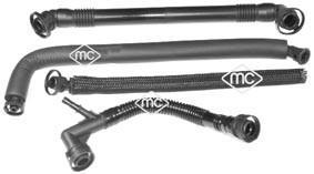 Tuyau, ventilation de carter-moteur Metalcaucho 09489