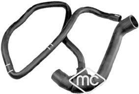 Durite de radiateur Metalcaucho 09542