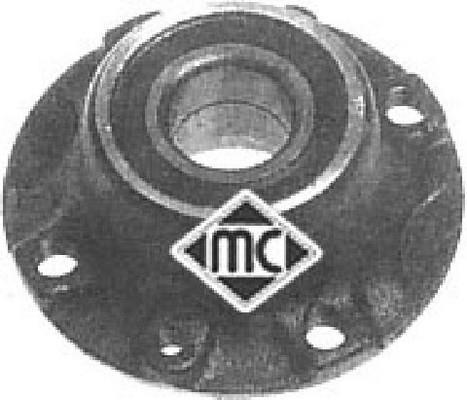 Moyeu De Roue Metalcaucho 90508