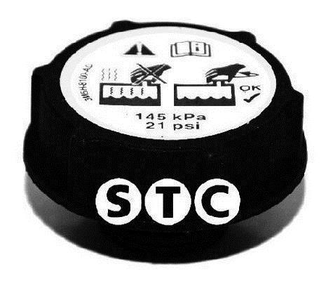 Bouchon, réservoir de liquide de refroidissement STC T403801