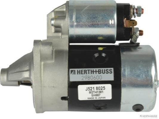Démarreur HERTH+BUSS JAKOPARTS J5218029
