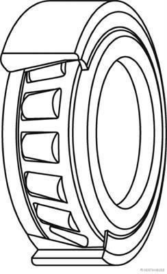 Roulement de roue HERTH+BUSS JAKOPARTS J4703010