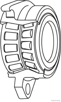Roulement de roue HERTH+BUSS JAKOPARTS J4714030