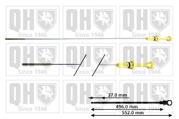 Jauge de niveau d'huile QUINTON HAZELL QOD110