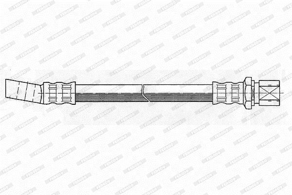 Flexible de frein FERODO FHY2067