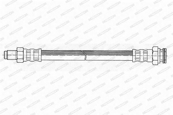 Flexible de frein FERODO FHY2186