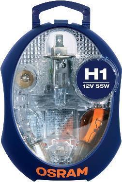 Coffret d'ampoules OSRAM CLKM H1