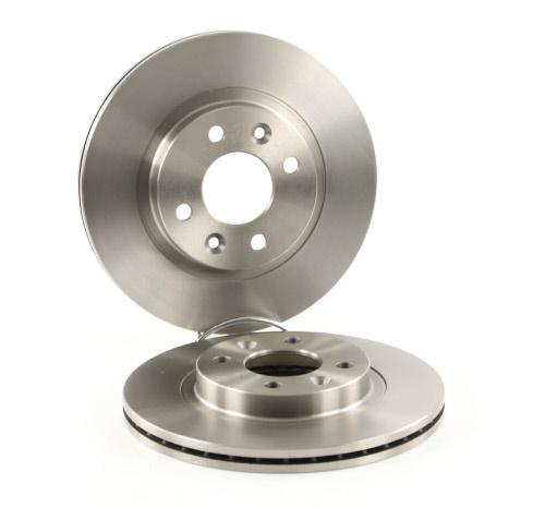 RT 1027-GL//T6 Essieu avant, Ensemble 2 pi/èces Rev/êtement de protection contre la corrosion ROTINGER Disques de frein,