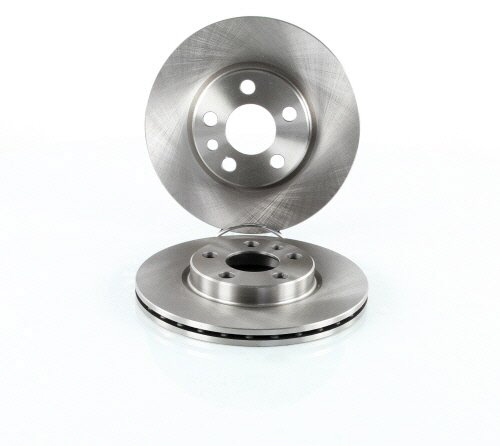 Jeu de 2 disques de frein VALEO 186589