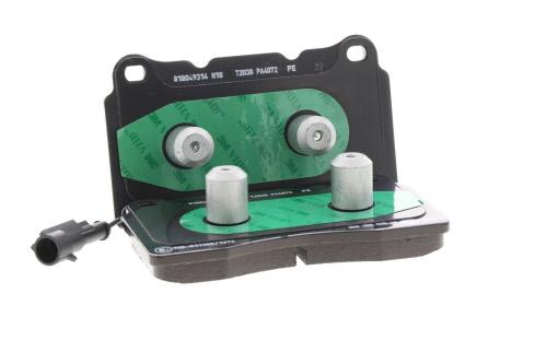 HELLA PAGID 8DB 355 015-221 Kit de plaquettes de frein frein /à disque Essieu arri/ère