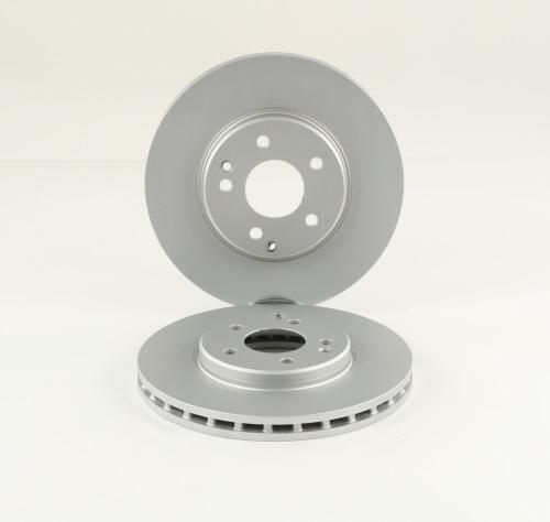 Jeu de 2 disques de frein HELLA PAGID 8DD 355 107-501