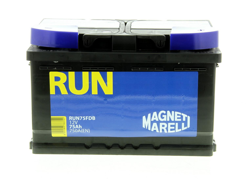 Batterie MAGNETI MARELLI RUN75FDB
