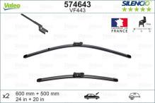 Valeo 574643 Balais dessuie-Glaces 600+500