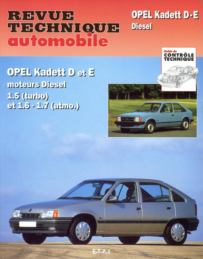 Revue technique auto ETAI 11382