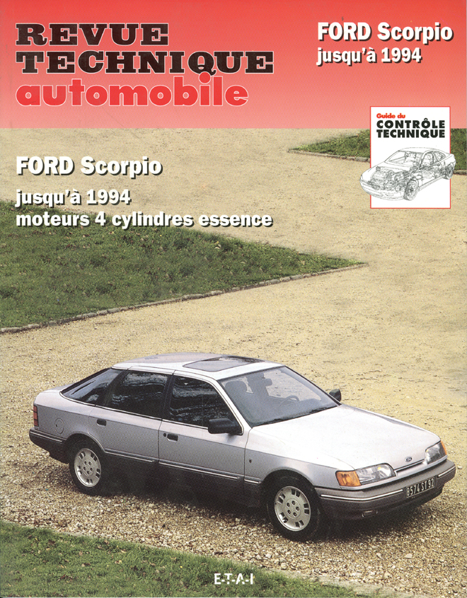 Revue technique auto ETAI 11857