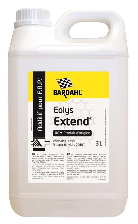 Additif filtre à particules BARDAHL 44408