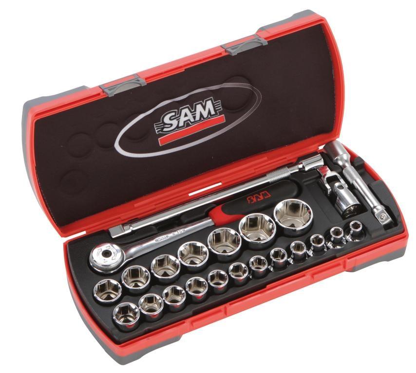 Coffret mixte cliquets et douilles SAM 75-SH23Z