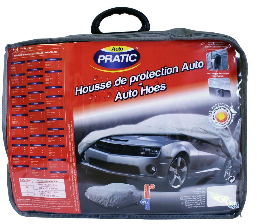 Bâche de protection voiture Auto Pratic HVS