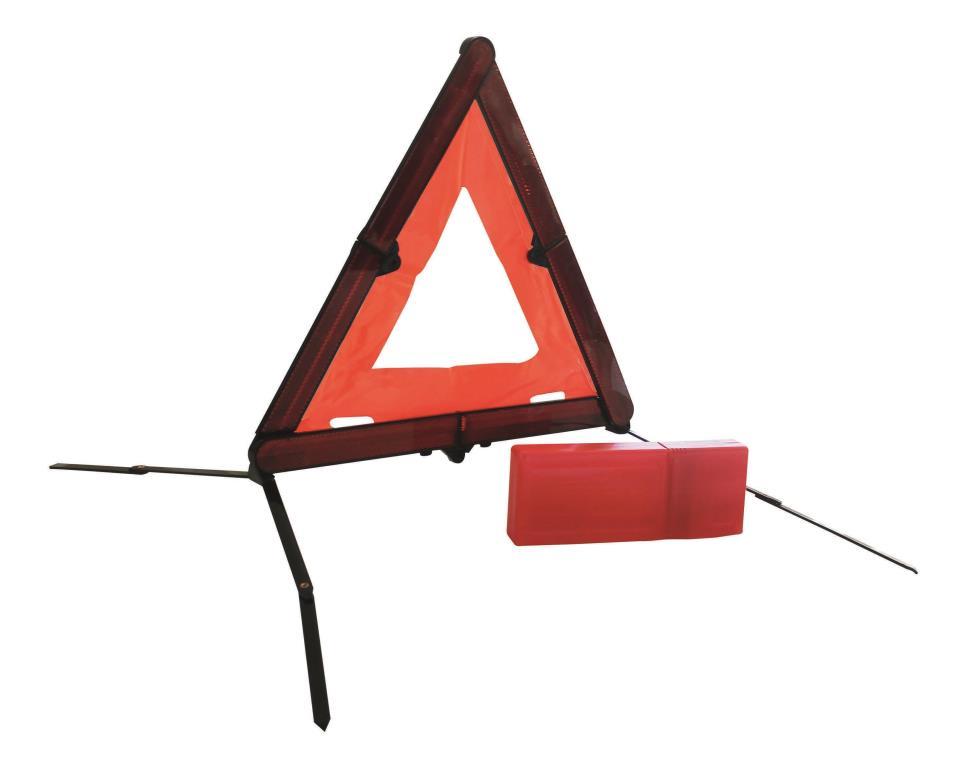 Triangle de signalisation Objectif Prévention OPTRICOMP