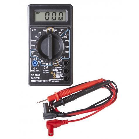 Multimètre digital CLAS OE 3008BL