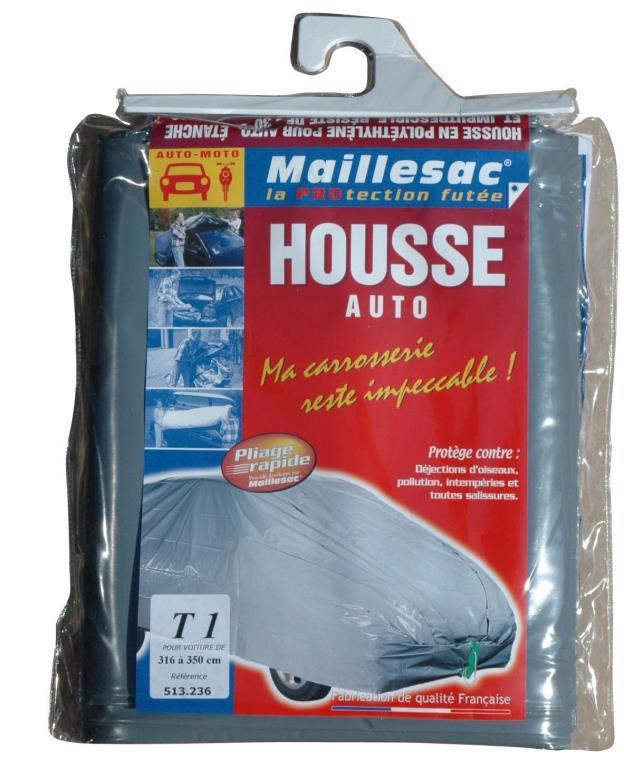 Bâche de protection voiture MAILLESAC A000029