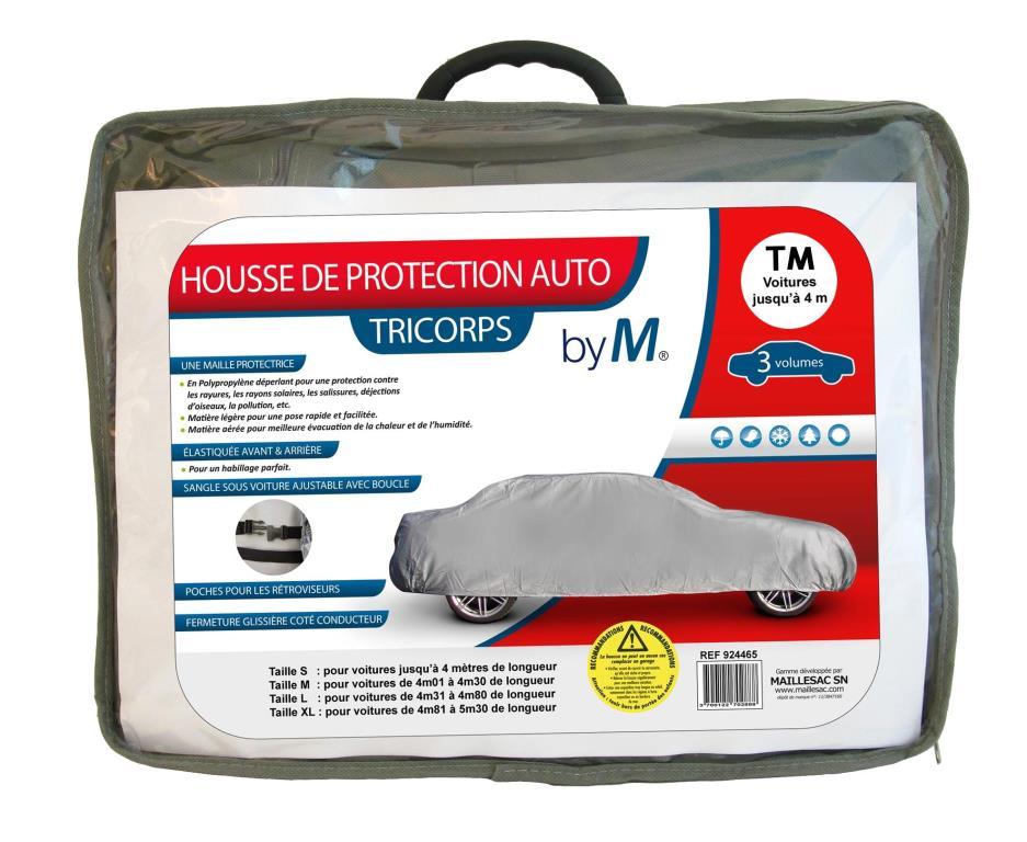Bâche de protection voiture MAILLESAC A000289