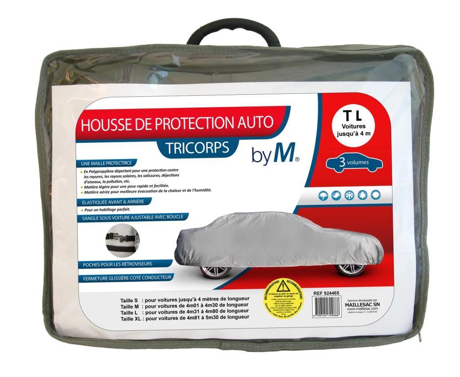 Bâche de protection voiture MAILLESAC A000290