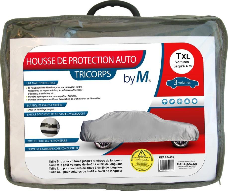 Bâche de protection voiture MAILLESAC A000291