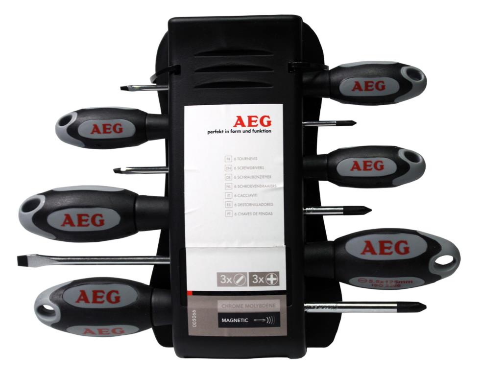 Jeu de tournevis AEG 005066 (photo)