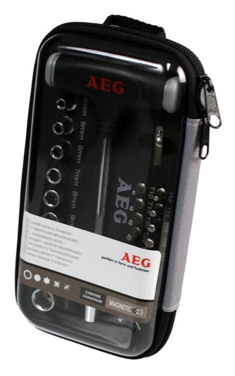Coffret d'embouts AEG 005 069