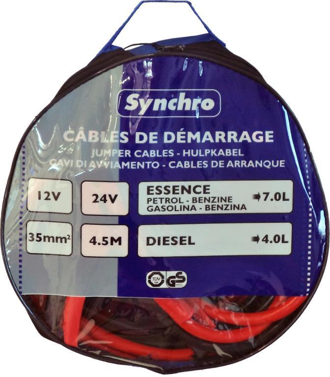 Câble de démarrage SYNCHRO 222673