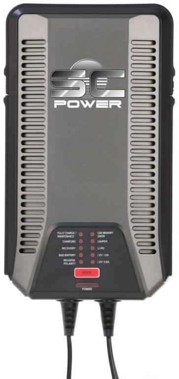 Chargeur de batterie SC POWER SC120