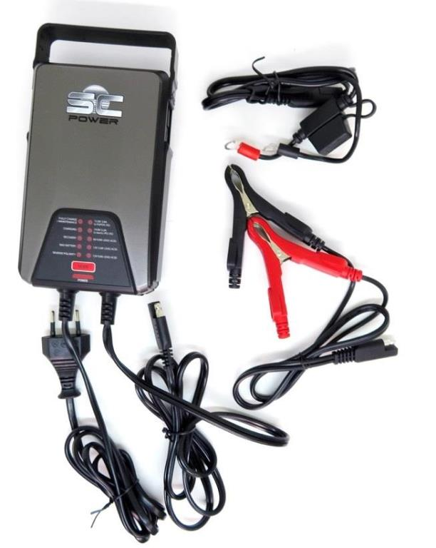 Chargeur de batterie SC POWER SC38