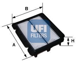 Nrpfell FY2420 30 FY2422 Filtro de Repuesto de Hoja de Filtro HEPA de Carb/óN Activado para Purificador de Aire AC2889 AC2887 AC2882