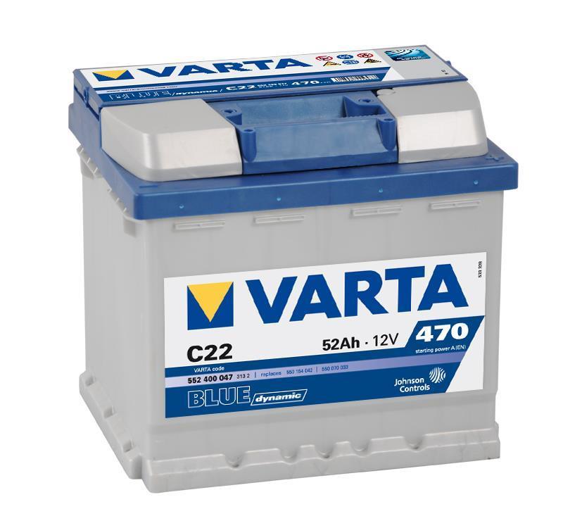 Batterie VARTA 5524000473132