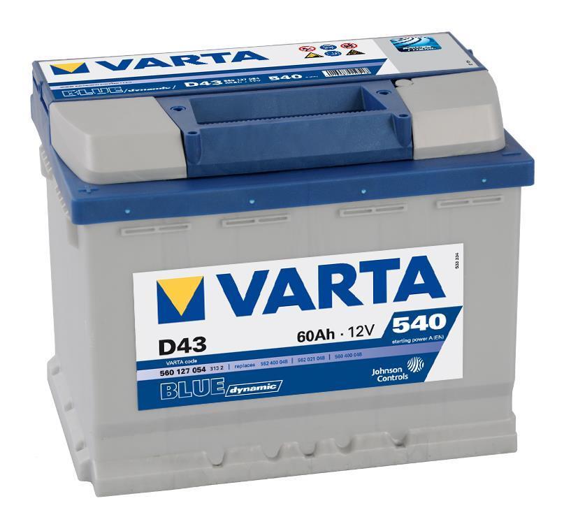 Batterie VARTA 5601270543132