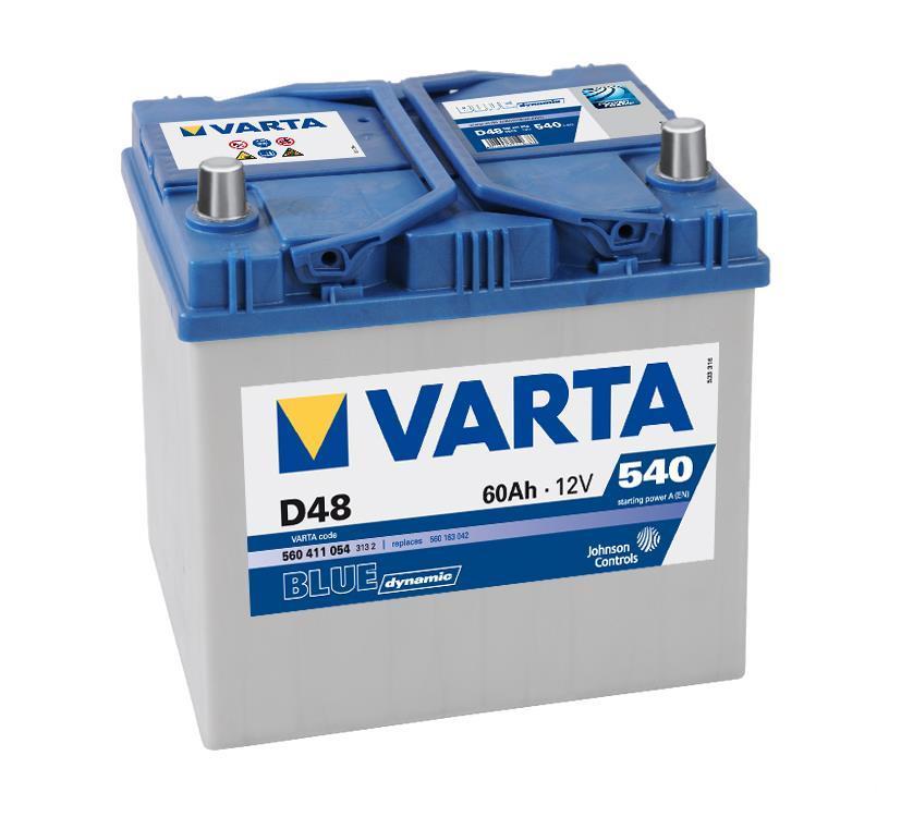 Batterie VARTA 5604110543132