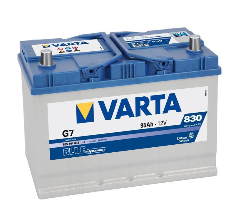 Batterie VARTA 5954040833132