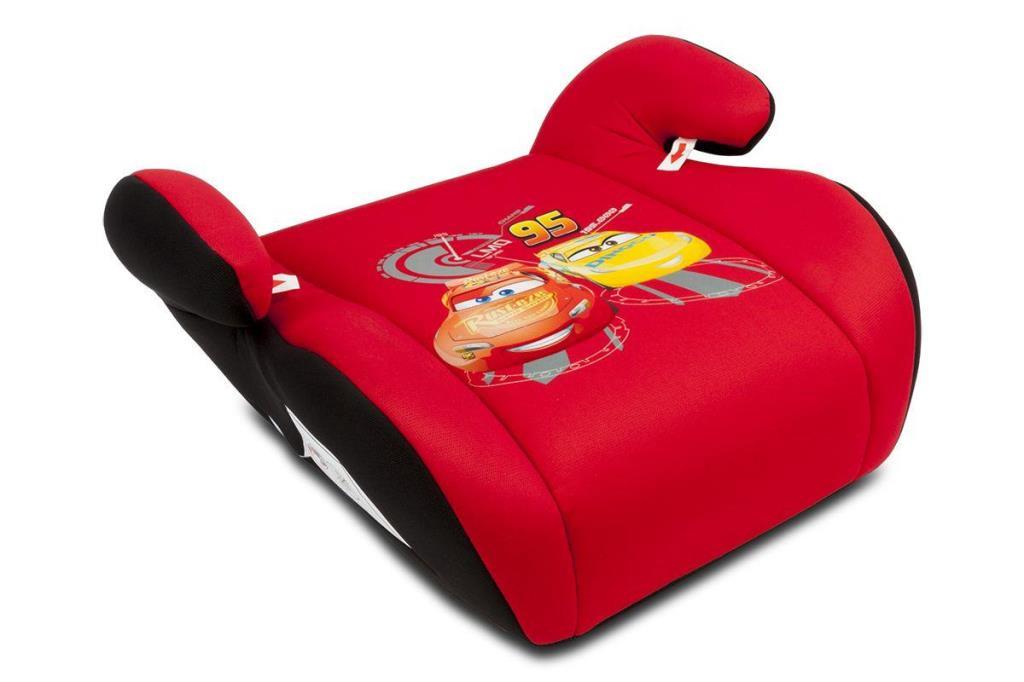 Rehausseur Disney Cars rouge groupe 2/3 - 15-36 kg